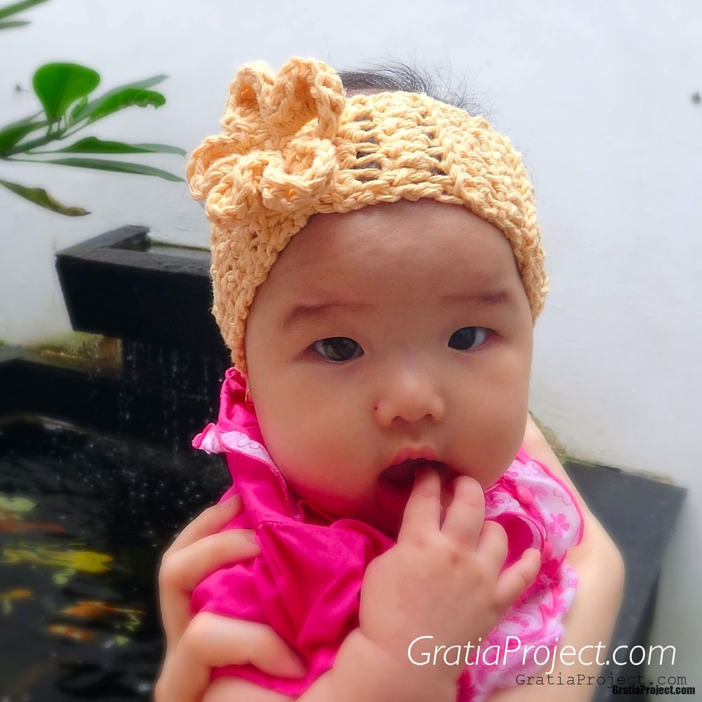 Baby Ear Warmer Headband Crochet Pattern – Gratia Project