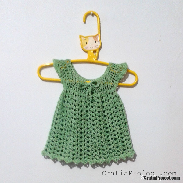 Angel Wing Pinafore Baby Bolero Crochet Pattern