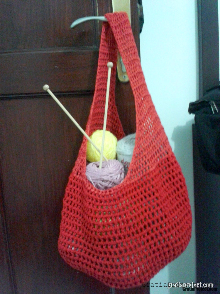 market bag crochet pattern