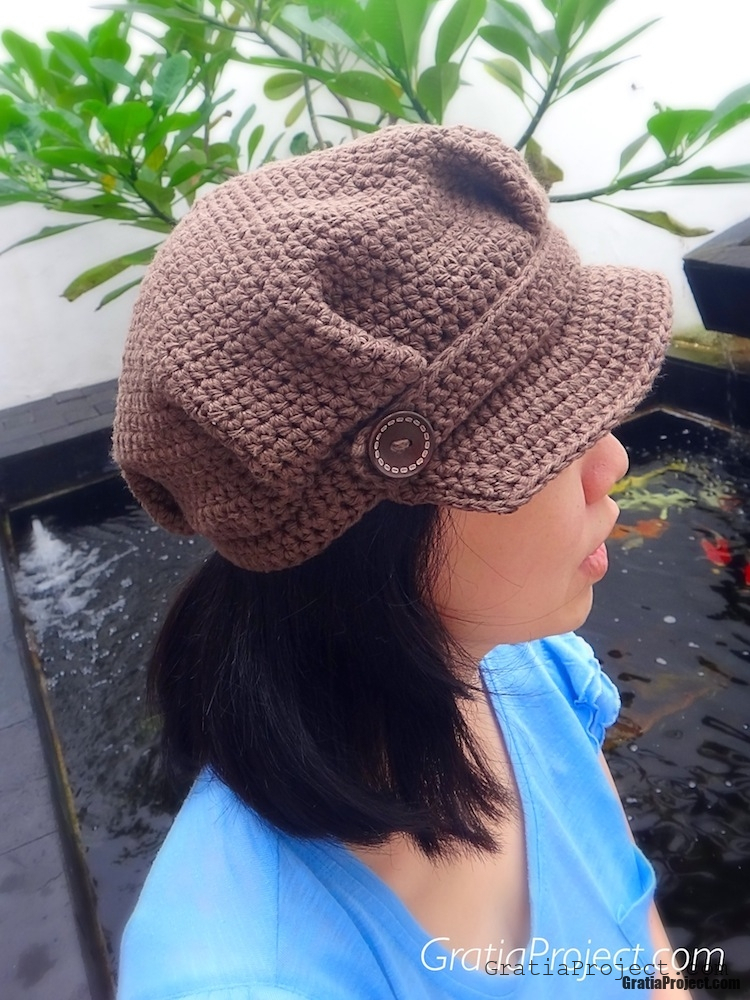 newsboy-hat-crochet-pattern