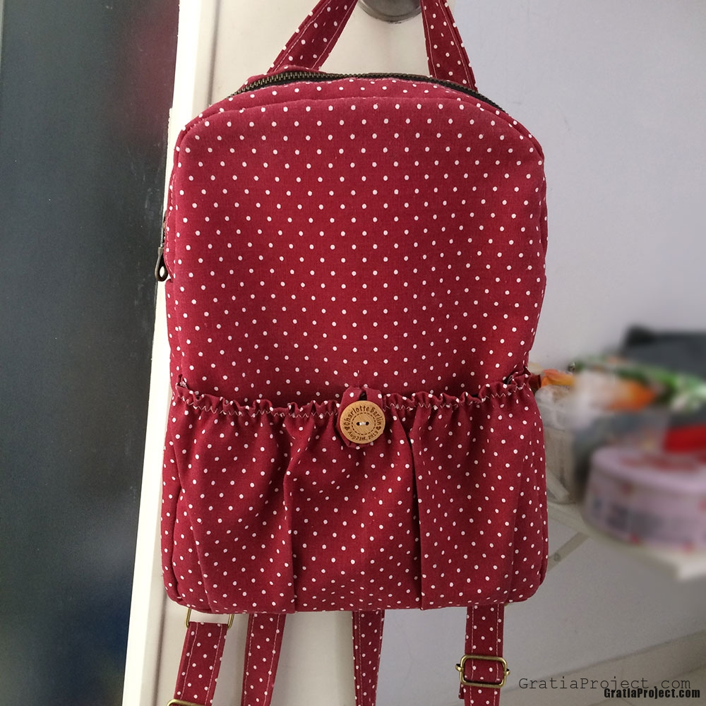 Children Backpack Sewing Project