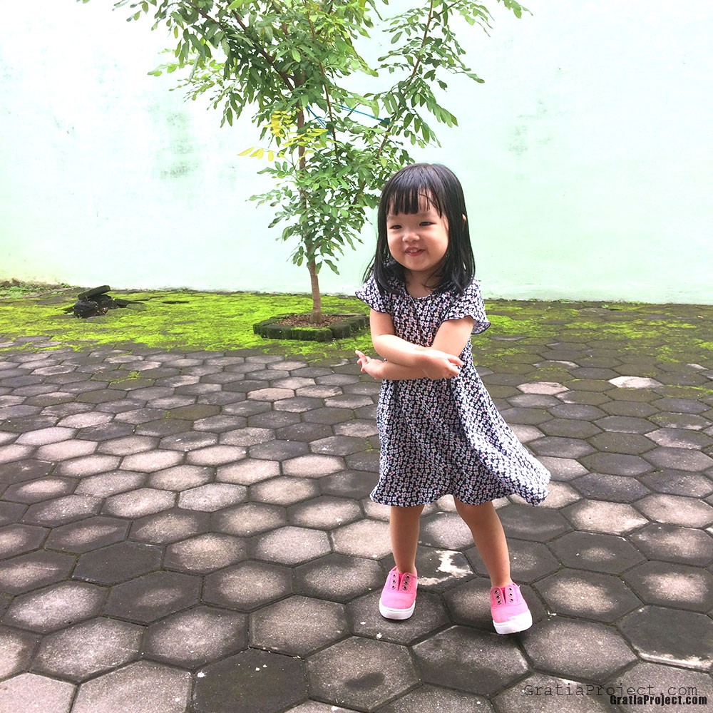 Easy Children Rayon Dress Sewing Project