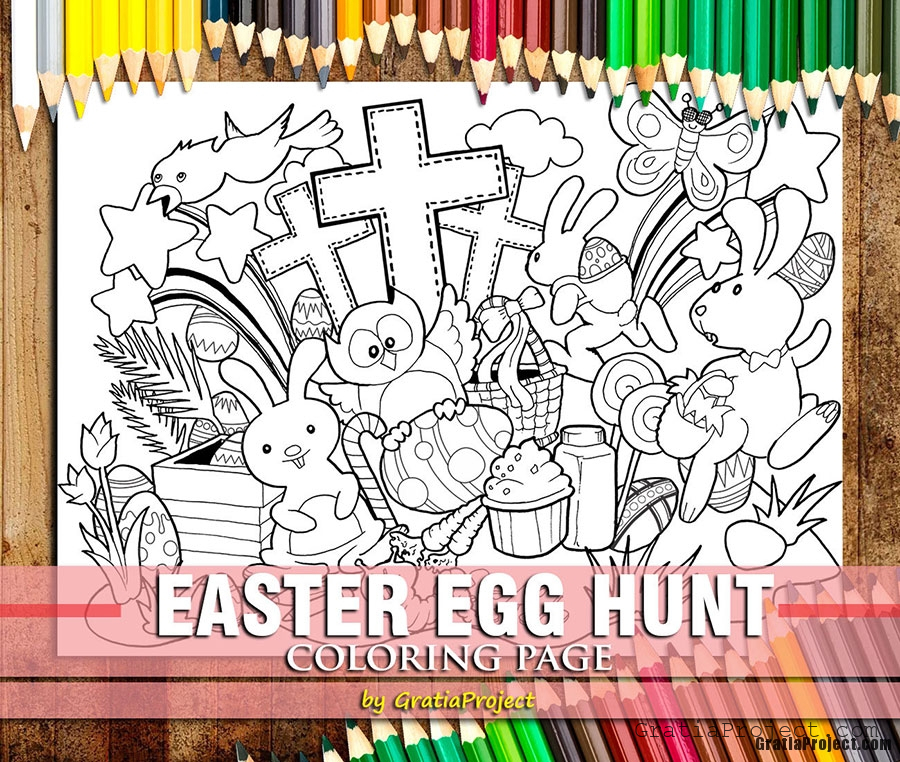 easter-egg-hunt-coloring-page