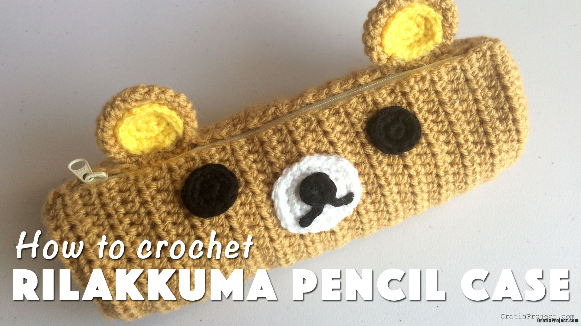 how-to-crochet-rilakkuma-pencil-case