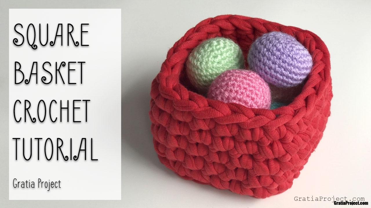 square basket crochet tutorial