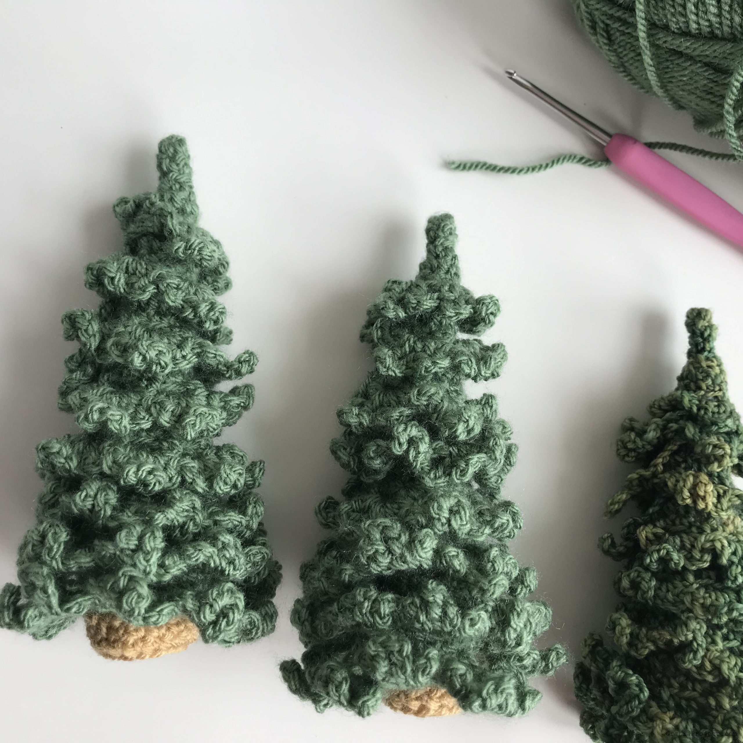 christmas tree crochet free pattern