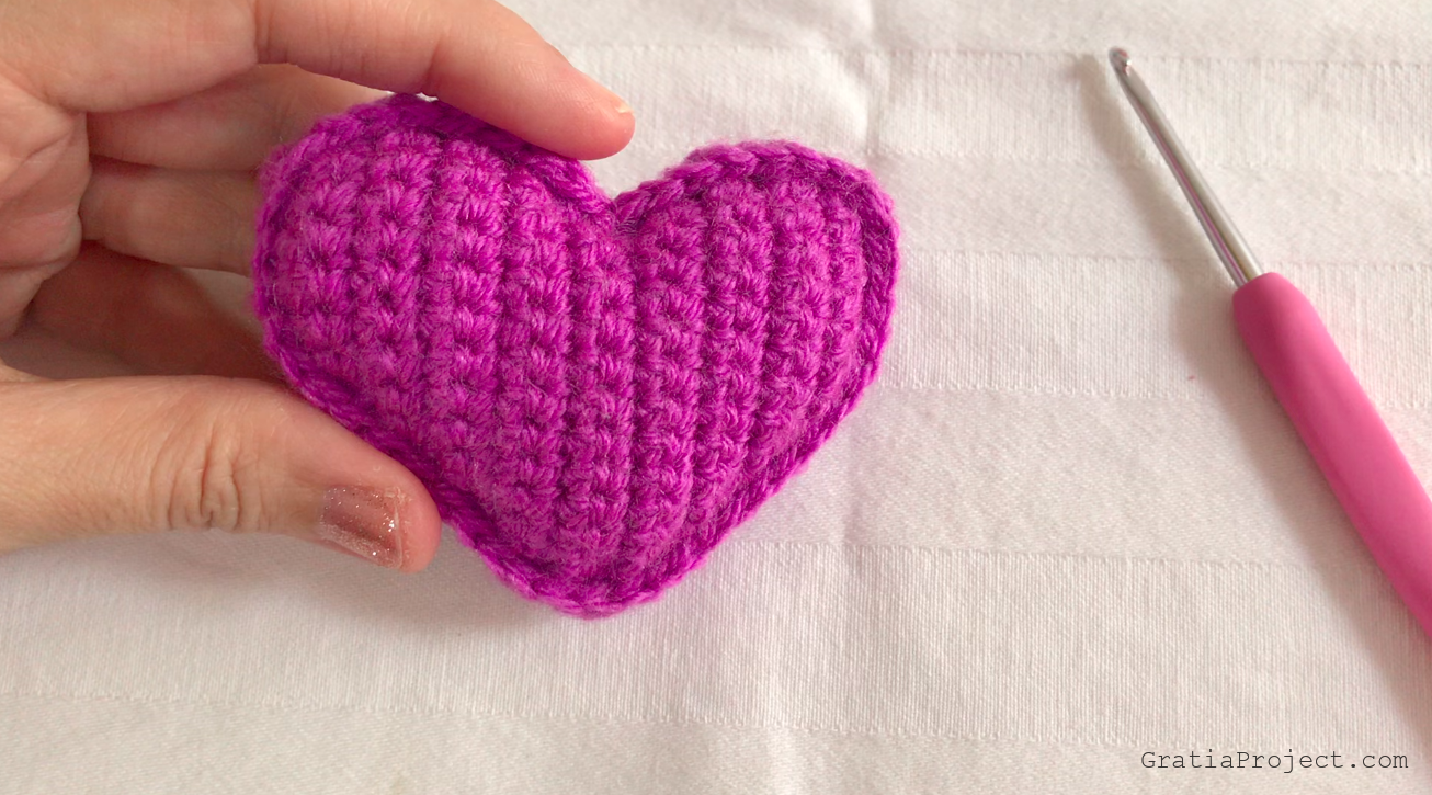 Heart Crochet Tutorial